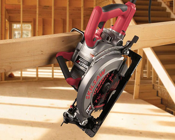 skilsaw spt77wml01 15amp 714inch lightweight worm drive circular saw review circular saw